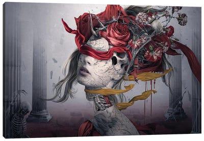 Dangerous Red Canvas Art Print