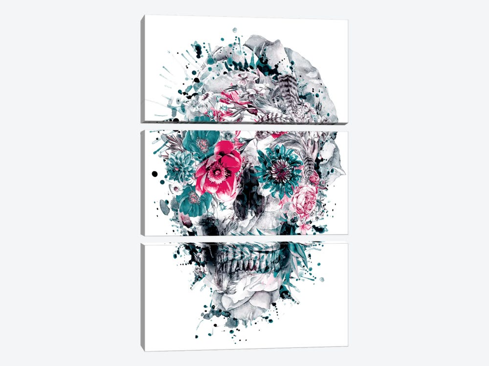 Momento Mori IX by Riza Peker 3-piece Canvas Wall Art