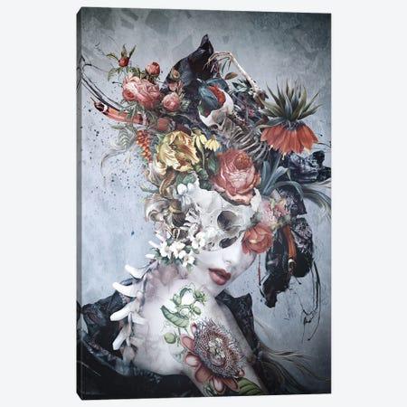 Dark Queen Canvas Print #PEK225} by Riza Peker Canvas Art