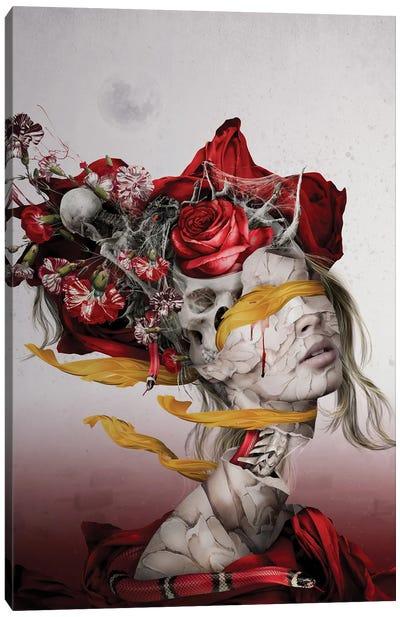 Skull Queen XIX Canvas Art Print