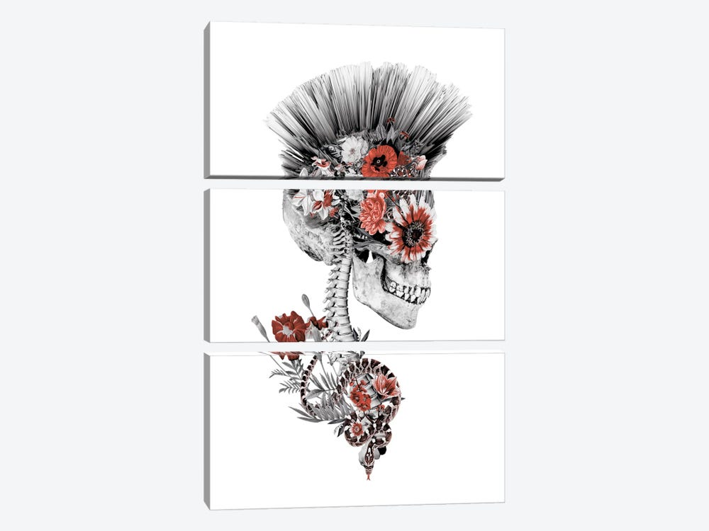 Momento Mori Punk II 3-piece Canvas Print