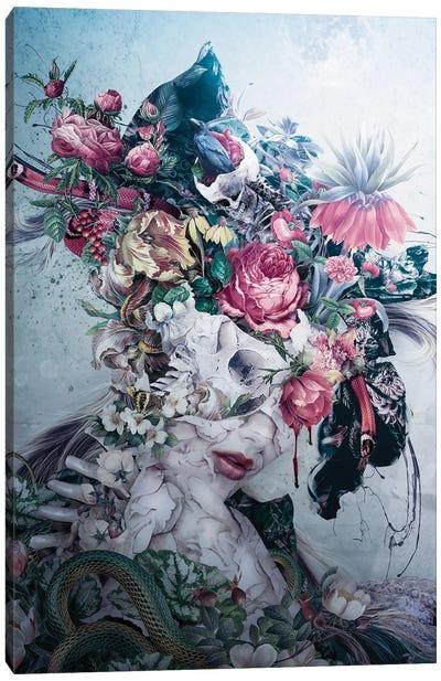 Skull Queen XX Canvas Art Print