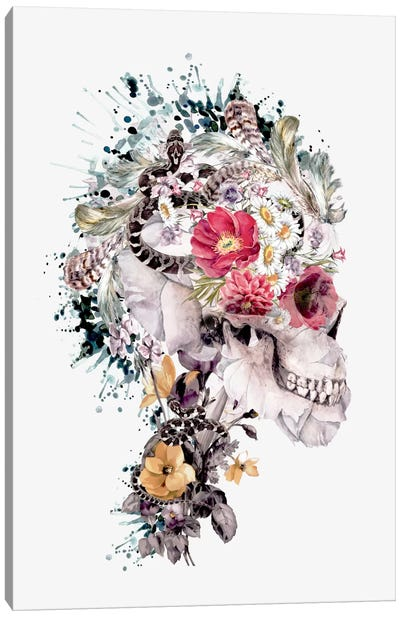 Momento Mori X Canvas Art Print