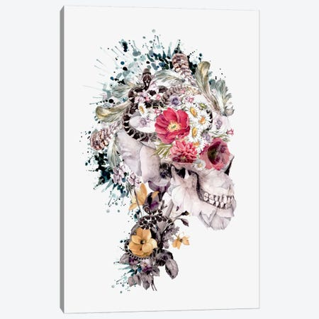 Momento Mori X Canvas Print #PEK27} by Riza Peker Canvas Art Print