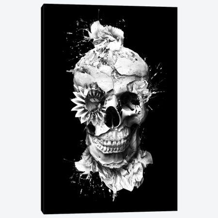 Skeleton Canvas Print #PEK32} by Riza Peker Art Print