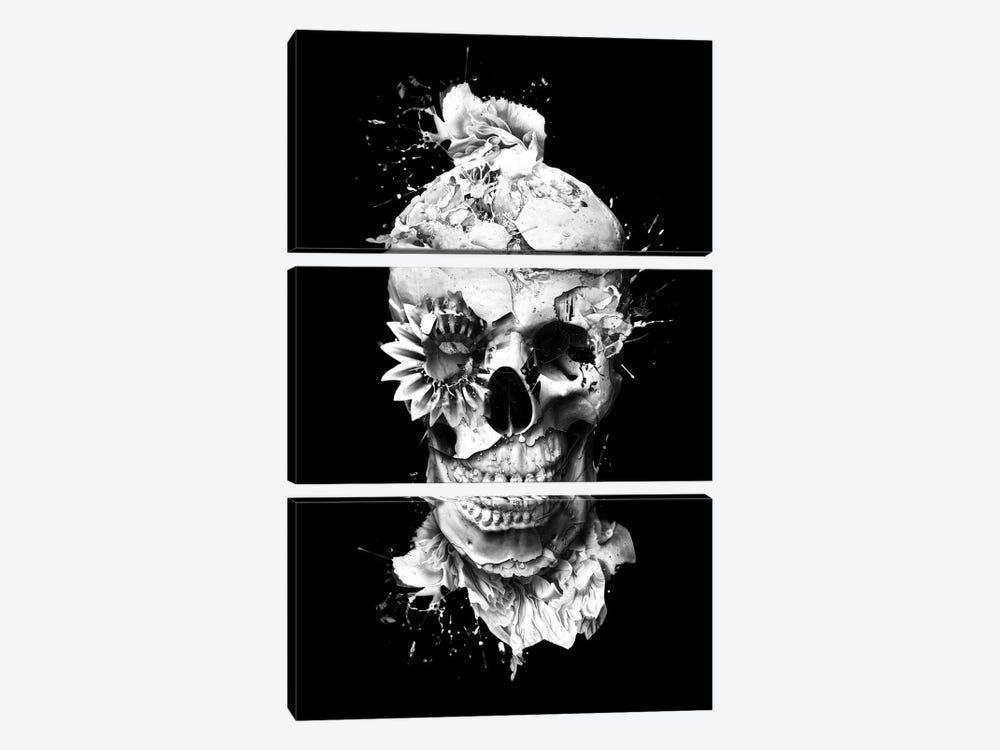 Skeleton by Riza Peker 3-piece Canvas Artwork