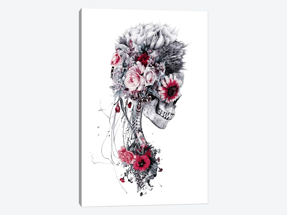 Skeleton Bride by Riza Peker 1-piece Canvas Print