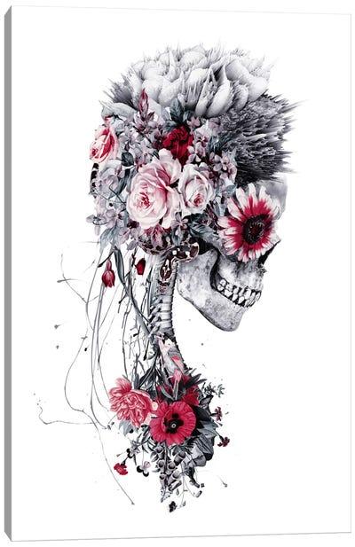 Skeleton Bride Canvas Art Print