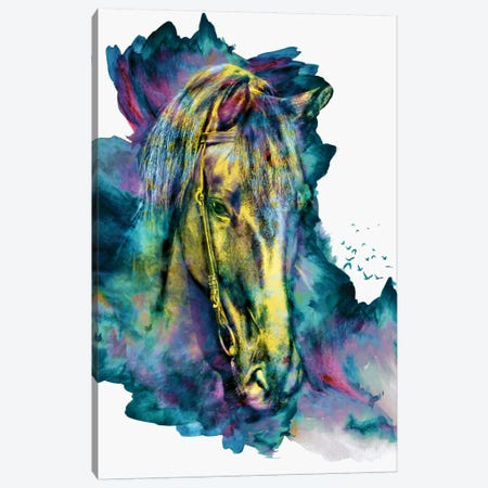 Chained Beauty Canvas Print #PEK3} by Riza Peker Canvas Artwork