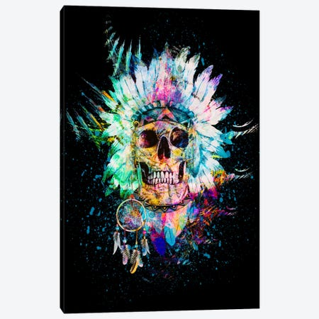 Wild Spirit Canvas Print #PEK41} by Riza Peker Canvas Artwork