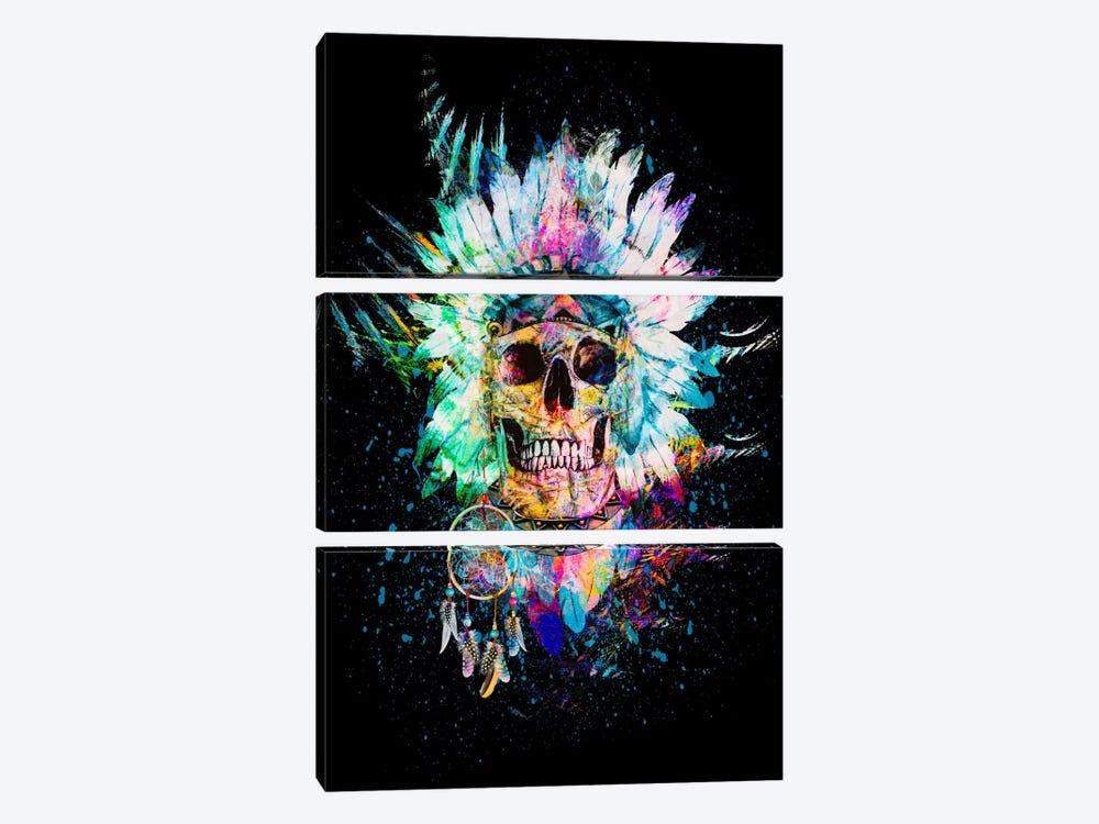 Wild Spirit by Riza Peker 3-piece Canvas Artwork
