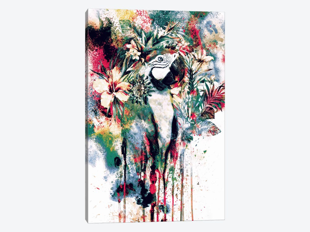 Parrot by Riza Peker 1-piece Canvas Art
