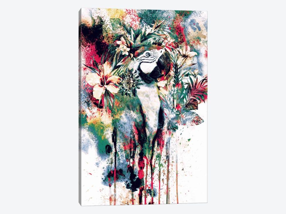 Parrot by Riza Peker 1-piece Canvas Art