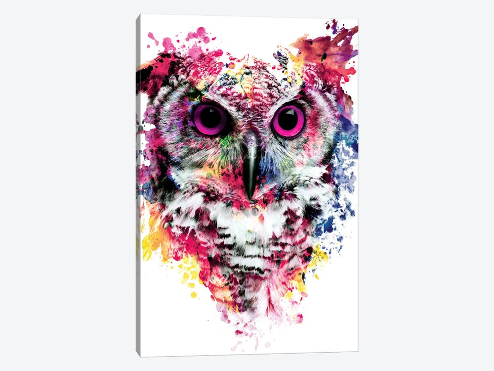 Owl I by Riza Peker 1-piece Canvas Art Print