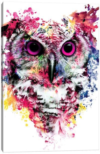 Owl I Canvas Art Print
