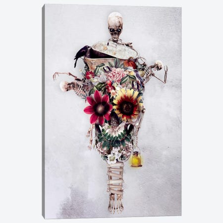 Scarecrow Canvas Print #PEK59} by Riza Peker Canvas Print