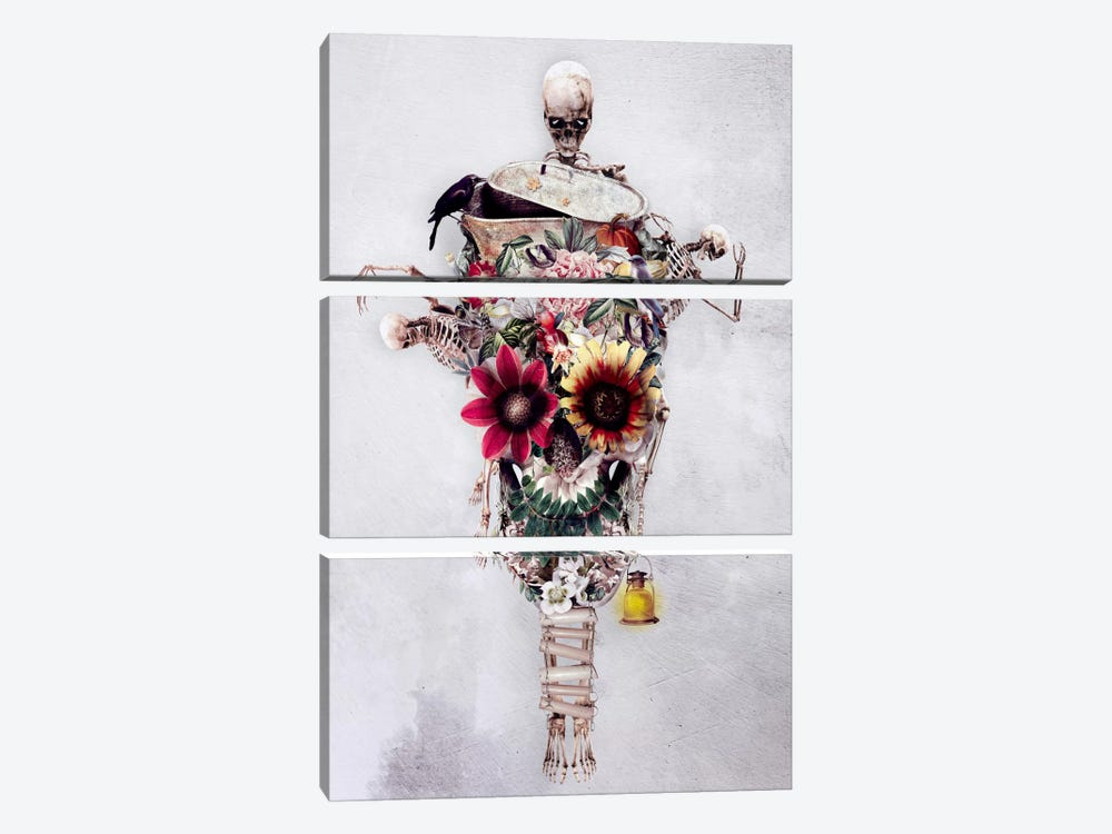 Scarecrow by Riza Peker 3-piece Canvas Print