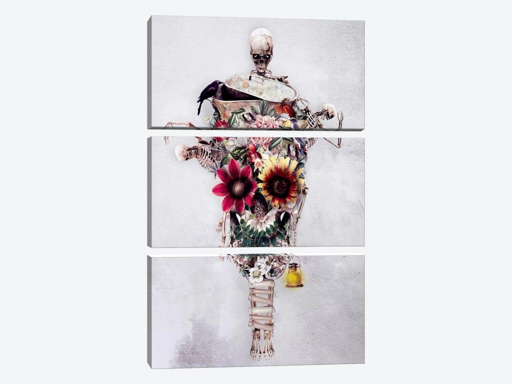 Scarecrow by Riza Peker 3-piece Canvas Print