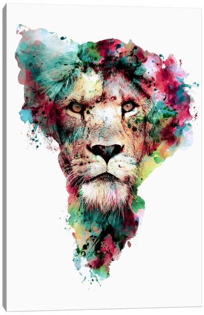 The King Canvas Art Print