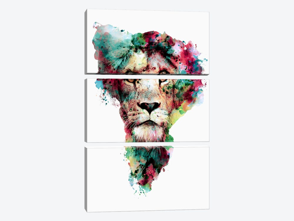 The King by Riza Peker 3-piece Art Print
