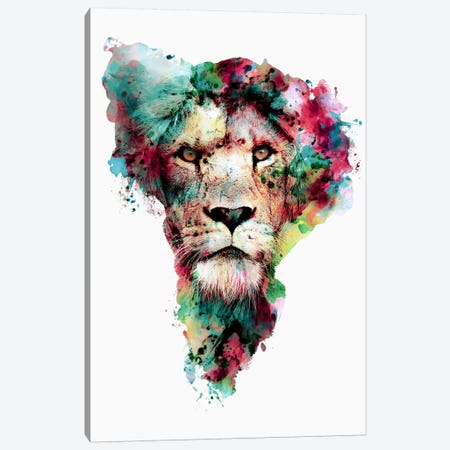 The King 3-Piece Canvas #PEK62} by Riza Peker Canvas Wall Art