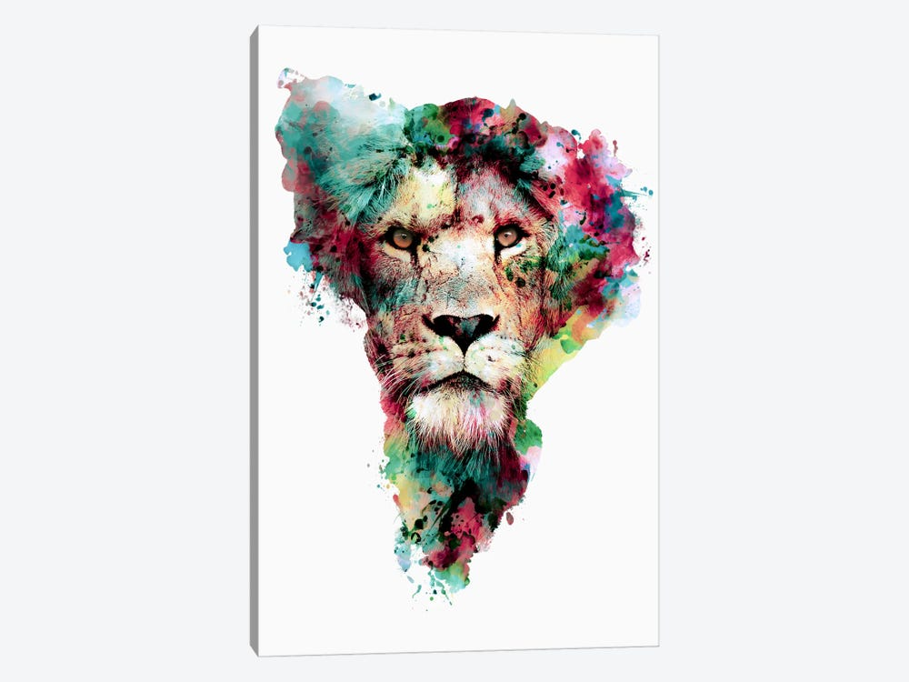 The King by Riza Peker 1-piece Canvas Art Print