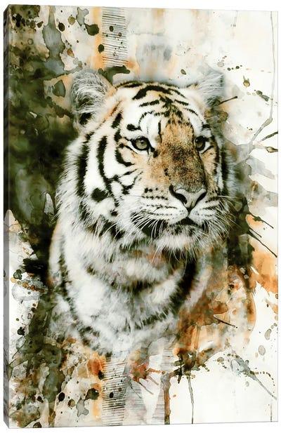Tiger I Canvas Print #PEK63