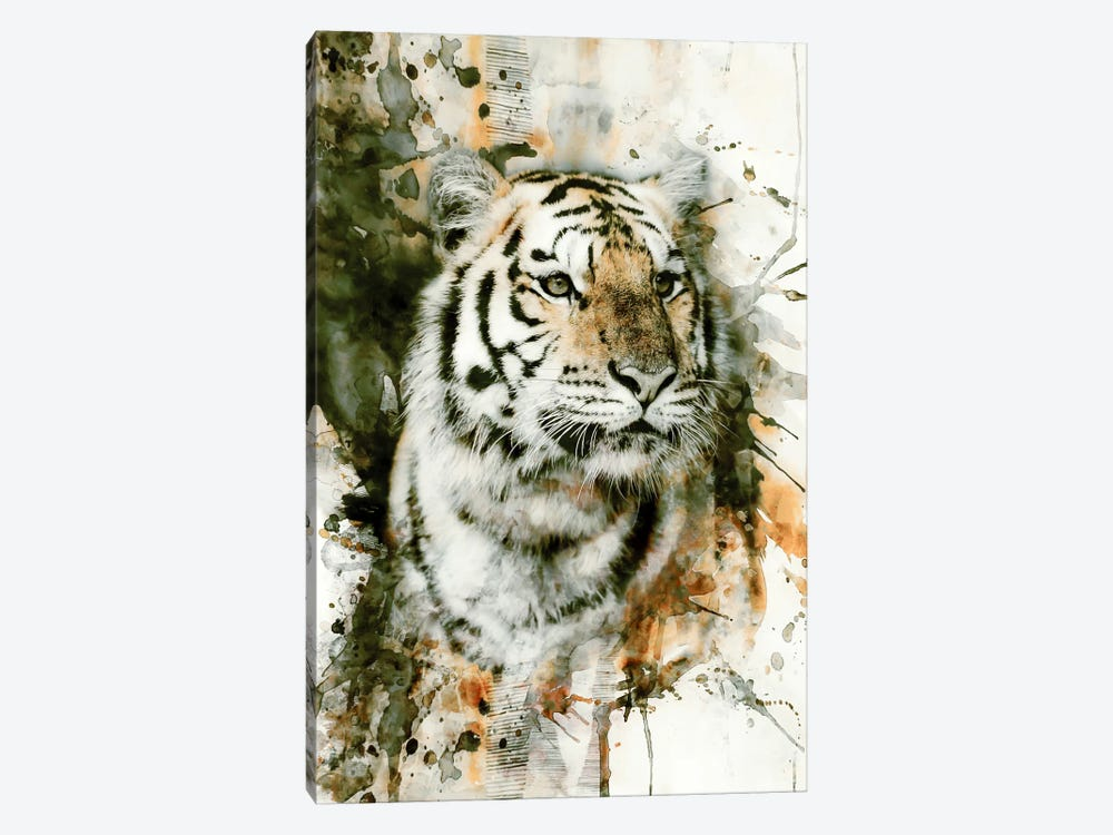 Tiger I 1-piece Canvas Art