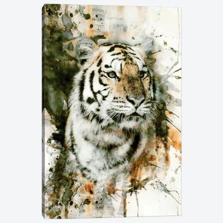 Tiger I 3-Piece Canvas #PEK63} by Riza Peker Canvas Wall Art