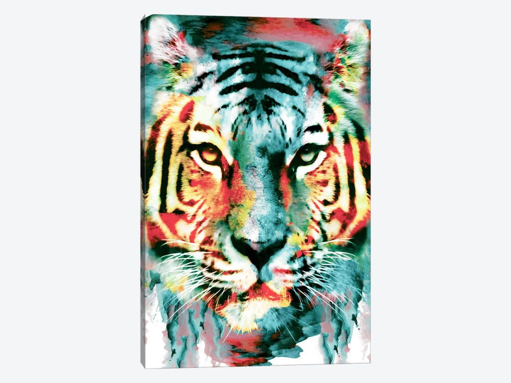 Tiger II by Riza Peker 1-piece Art Print