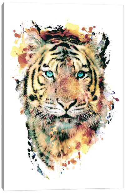 Tiger III Canvas Art Print