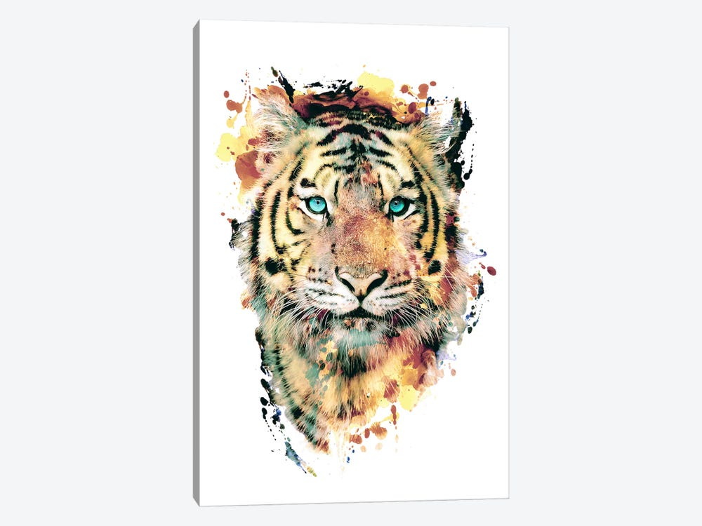 Tiger III by Riza Peker 1-piece Canvas Wall Art