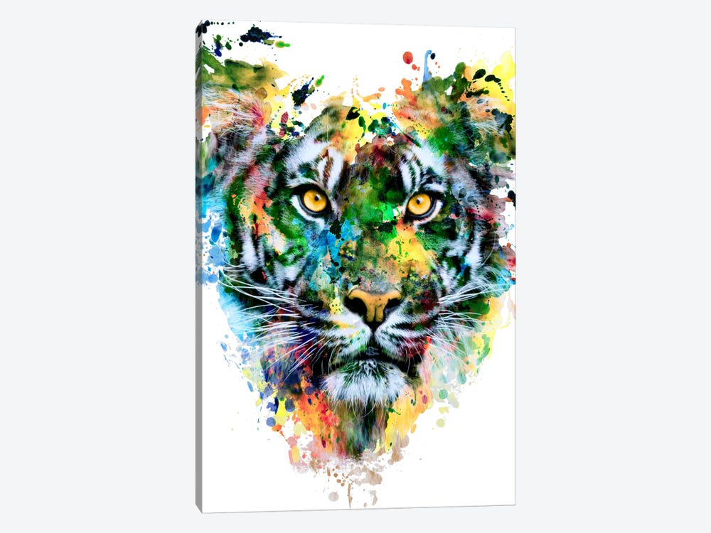 Tiger IV by Riza Peker 1-piece Canvas Print