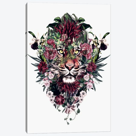 Tiger V Canvas Print #PEK67} by Riza Peker Art Print