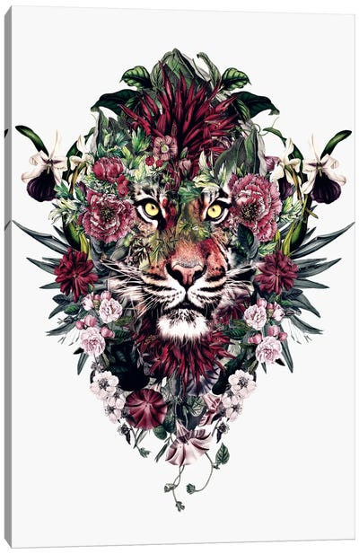 Tiger V Canvas Art Print