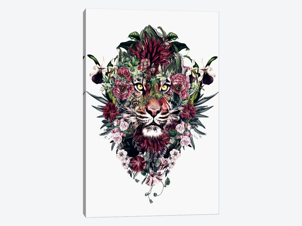Tiger V by Riza Peker 1-piece Canvas Wall Art