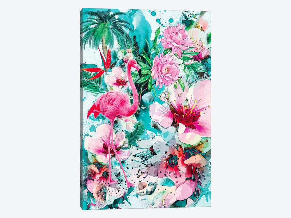 Tropical Life by Riza Peker 1-piece Canvas Art Print