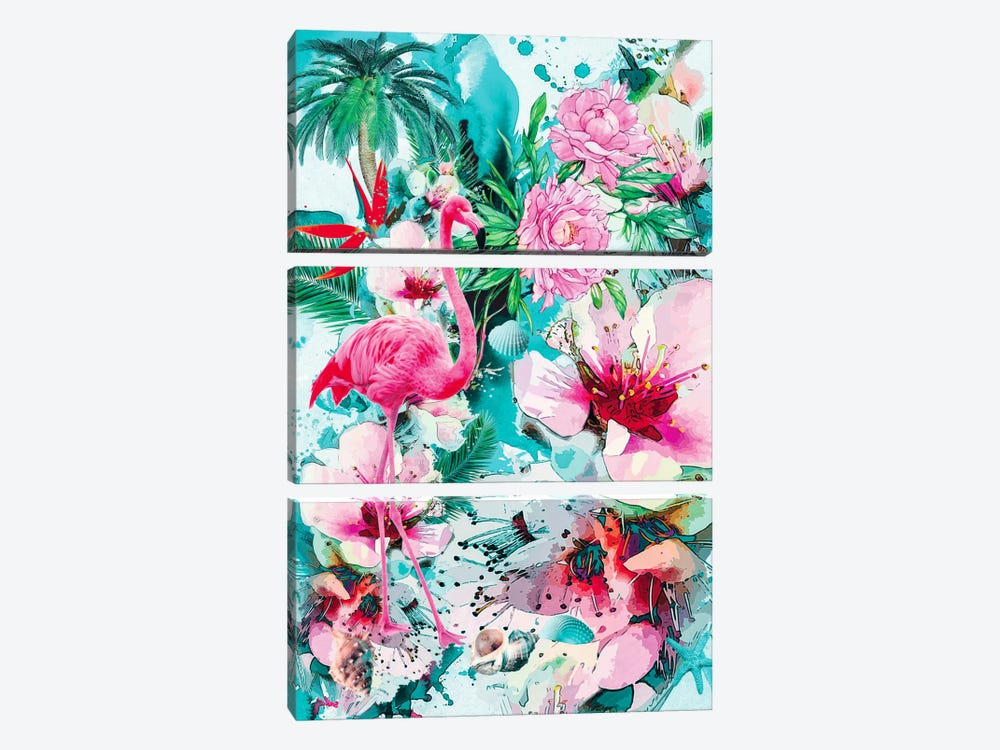 Tropical Life by Riza Peker 3-piece Art Print