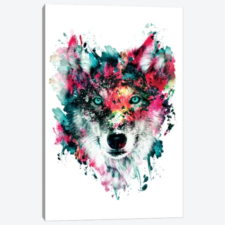 Wolf II Canvas Print #PEK72} by Riza Peker Canvas Art Print