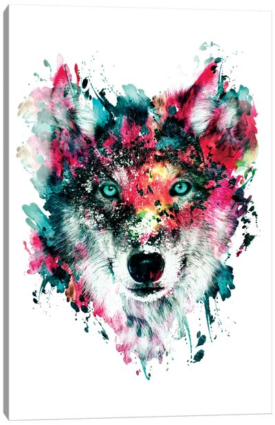 Wolf II Canvas Print #PEK72