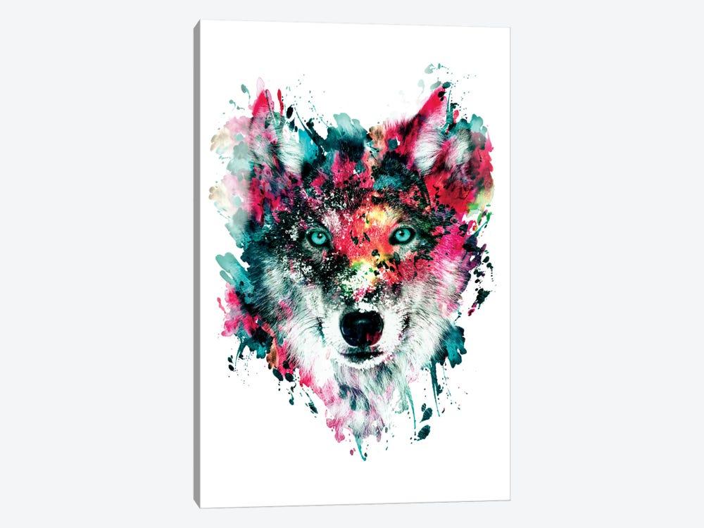 Wolf II by Riza Peker 1-piece Canvas Wall Art