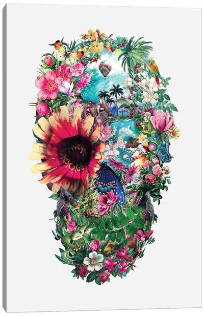 Summer Skull II Canvas Art Print