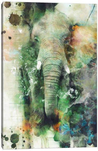 Elephant Canvas Art Print