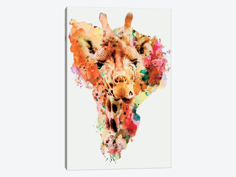 Giraffe by Riza Peker 1-piece Canvas Artwork