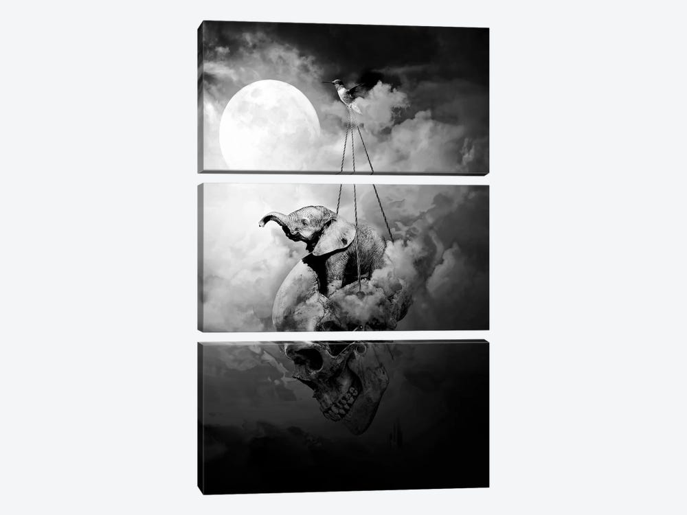Journey by Riza Peker 3-piece Canvas Artwork