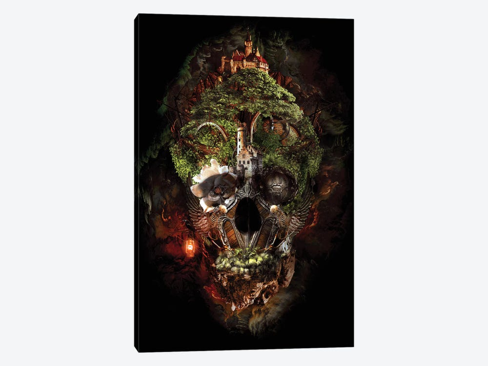 Skull Castle I by Riza Peker 1-piece Canvas Wall Art
