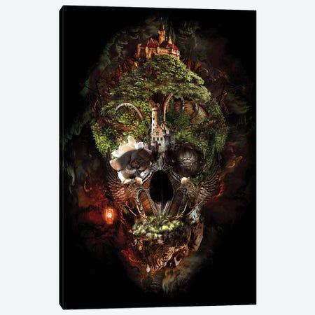 Skull Castle I 3-Piece Canvas #PEK96} by Riza Peker Canvas Wall Art