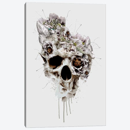 Skull Castle II Canvas Print #PEK97} by Riza Peker Canvas Artwork
