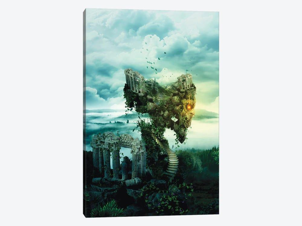Skull Castle III by Riza Peker 1-piece Canvas Art