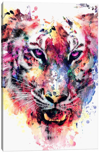 Eye Of The Tiger Canvas Art Print